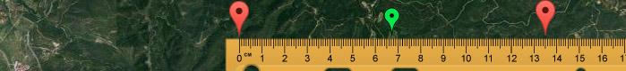 Google maps VIII (distancia entre 2 puntos)